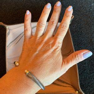 David Yurman Cable Classics Bracelet with Pearls